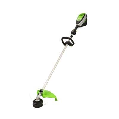 X-Range 16 in. 60-Volt Battery Cordless Brushless Solid Shaft String Trimmer (Tool-Only)