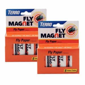 Fly Magnet Paper Fly Trap (2-Pack)