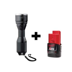 M12 12-Volt Lithium-Ion Cordless LED High Performance Flashlight with M12 2.0Ah Battery