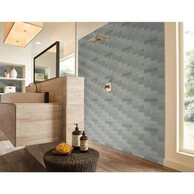 Lakeview Jade 3 in. x 12 in. Glossy Ceramic Wall Tile (5.5 sq. ft./Case)