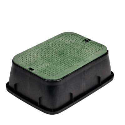 14 in. x 19 in. Standard Valve Box Extension with ICV Overlapping Cover