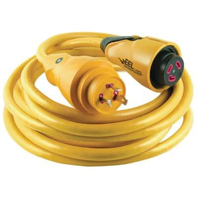 30 Amp 125-Volt 50 ft. EEL Cordset, Yellow