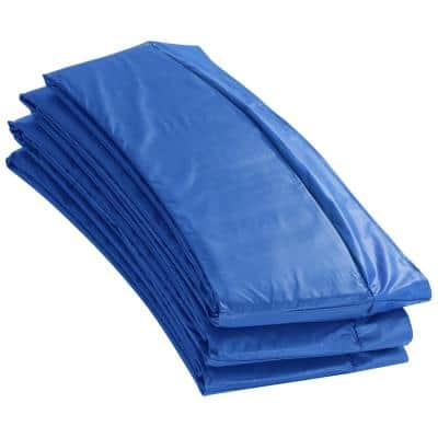 15 ft. W Blue Premium Trampoline Safety Pad Spring Cover Fits for 15 ft. Round Trampoline Frame
