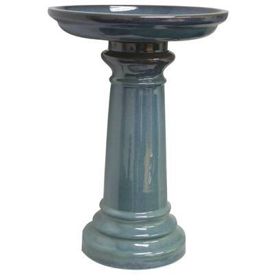 Birdbath Medium Light Blue