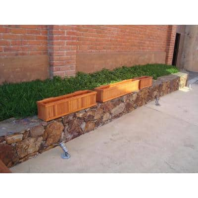 48 in. x 8.5 in. 1905 Super Deck Finish. Wood Window Boxes & Troughs