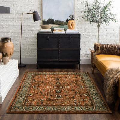 Mariah Spice 5 ft. x 7 ft. Area Rug
