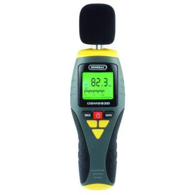 Digital Sound Level Decibel Meter with Analog Bar Graph, wind screen and battery included