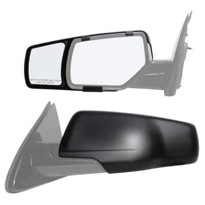 Clip-on Towing Mirror Set for 2015 - 2018 Chevrolet Suburban/Tahoe GMC Yukon