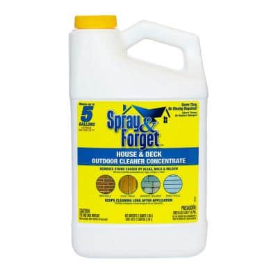64 oz. House and Deck Outdoor Mold and Mildew Cleaner Concentrate
