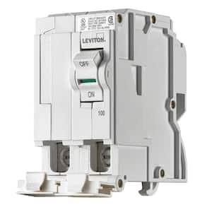 Branch Circuit Breaker, Standard 2-Pole 100 Amp, 120-Volt/240-Volt, Thermal Magnetic