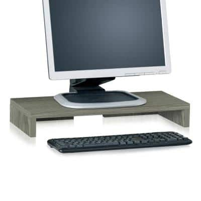 zBoard Eco Grey Computer Monitor Stand