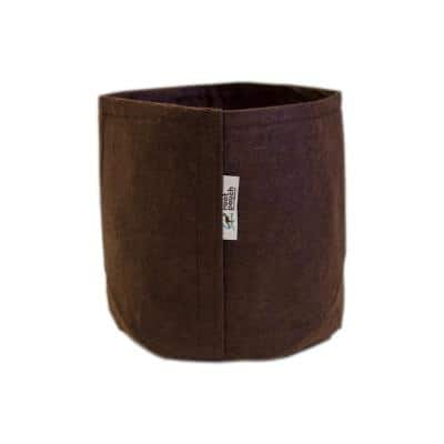 3 Gal. Breathable Boxer Brown Fabric Planting Containers and Pots Planter (10-Pack)