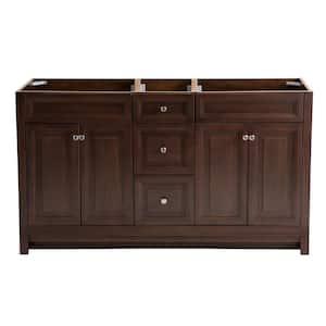 Brinkhill 60 in. W x 34 in. H x 22 in. D Bathroom Vanity Cabinet in Cognac