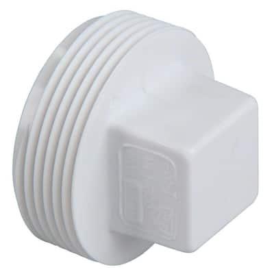 3 in. PVC DWV MIPT Cleanout Plug