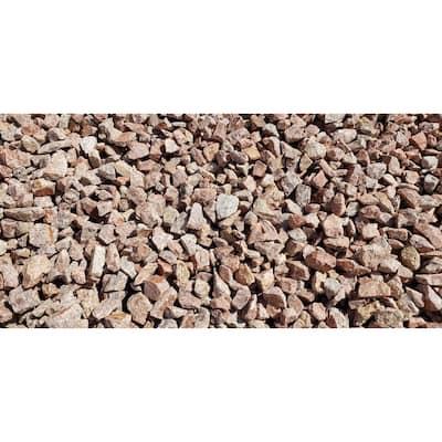 """10 cu. ft. Cobble Stone Pink Blend Medium .75"""" - 1.25"""" Decorative Stone - (1 Bag/10 cu. ft./Pallet)"""