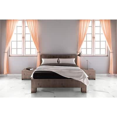 12 in. W x 24 in. L Harvested Marble Click Lock Luxury Vinyl Tile Flooring (19.37 sq. ft./case)