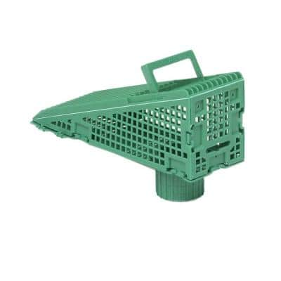 Wedge Downspout Screen