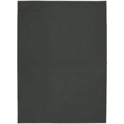 Town Square Cinder Gray 5 ft. x 7 ft. Area Rug