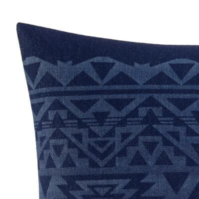 Crescent Lake Cotton Decorative Pillow