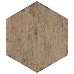Retro Hex Terra 14-1/8 in. x 16-1/4 in. Porcelain Floor and Wall Tile (48 Cases/530.4 sq. ft./Pallet)