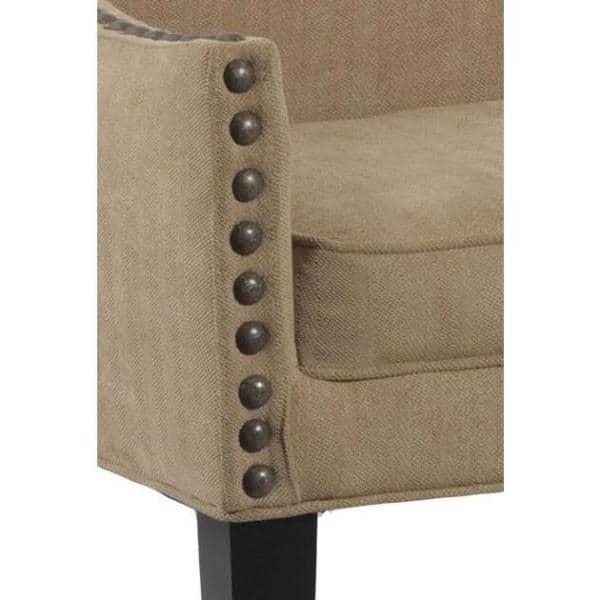 Leffler Home Whitney Upholstered Bench In Brooke Pecan 13000 02 10 01 The Home Depot