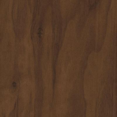 Matte American Walnut 3/8 in. T x 5 in. W x Varying Length Click Lock Hardwood Flooring (26.25 sq. ft. / case)