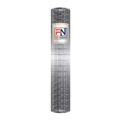 6 ft. x 50 ft. 12.5-Gauge Galvanized Welded Wire with 2 in. x 4 in. Mesh Size