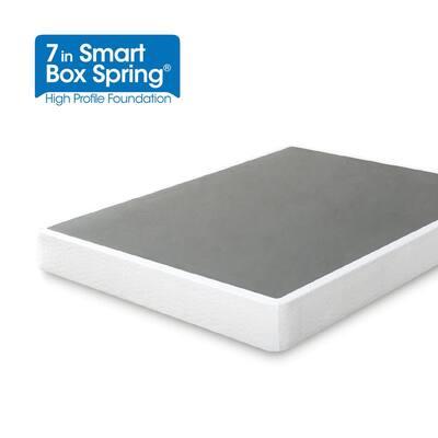 Metal Full 7 in. Smart Box Spring