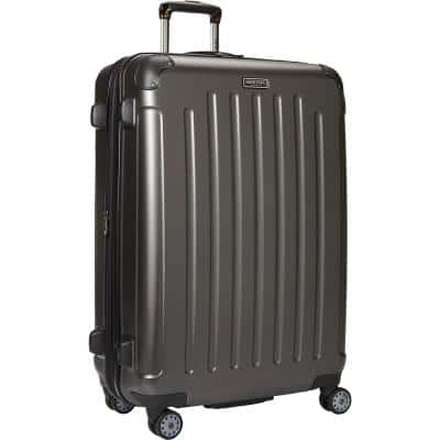 """""""Logan Square"""" Collection Lightweight Hardside ABS 8-Wheel Expandable 29 in. Checked Luggage With Corner Guards"""
