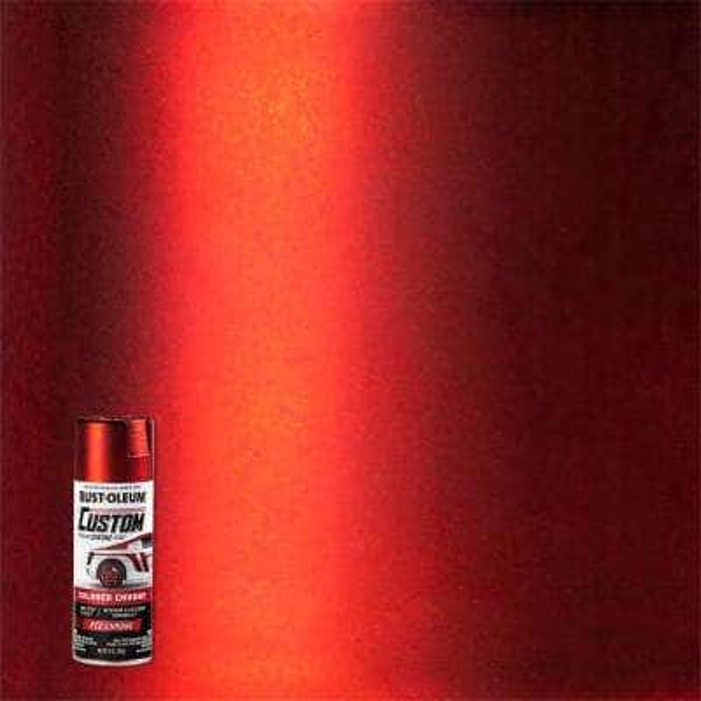 10 oz. Gloss Red Custom Chrome Spray Paint (6-Pack)
