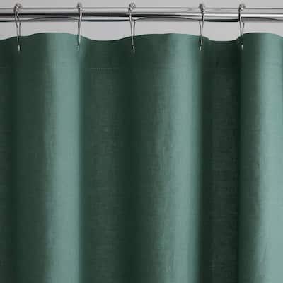 Legends Hotel Relaxed Linen Shower Curtain