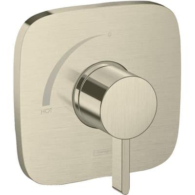 Ecostat E Single-Handle Shower Trim Kit in Brushed Nickel Valve Not Included