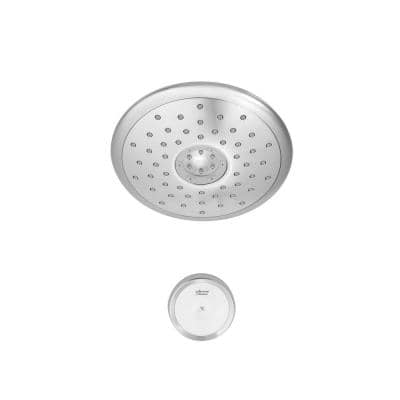 Spectra+ 4-Spray 7 in. Single Wall Mount Fixed Shower Head in Polished Chrome