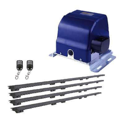 Slide Single Automatic Gate Opener Kit 30 ft. Length - 900 lbs. Opacity