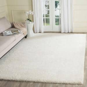 Ultimate Shag Ivory 8 ft. x 10 ft. Area Rug