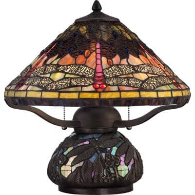 Copperfly 16.5 in. Imperial Bronze Table Lamp