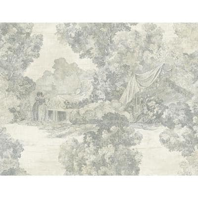 Lenox Hill Toile Paper Strippable Roll (Covers 60.75 sq. ft.)