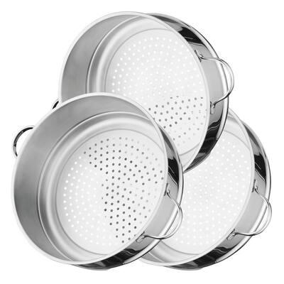 Essentials Comfort 5-Piece Stainless Steel Cookware Set