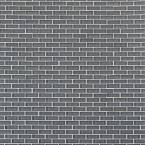 Contempo Smoke Gray Brick Glass 12 in. x 12 in. Floor and Wall Tile