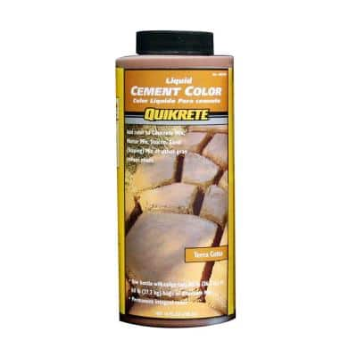 10 oz. Liquid Cement Color Terra Cotta