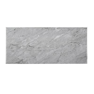 Mountain Storm Gray 9.75 in. x 21.625 in. Glossy Ceramic Wall Tile (14.80 sq. ft./Case)