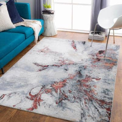 Hopewell Rose 8 ft. x 10 ft. Indoor Area Rug