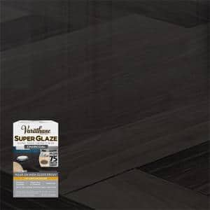 1 qt. Charcoal Gloss Super Glaze Finish and Preservative (3-Pack)