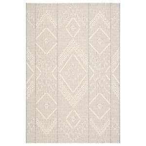 Amer Rugs Balpoma Sherrie Tan Gray 7 Ft 11 In X 9 Ft 10 In Transitional Medallion Polypropylene And Polyester Area Rug Blm2 711910ar The Home Depot