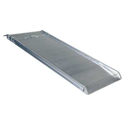 108 in. x 38 in. Aluminum Walk Ramp Overlap Style