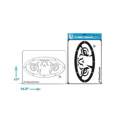 MICHIGAN STATE \u201cSPARTANS\u201d \u2013 Mini Stencil
