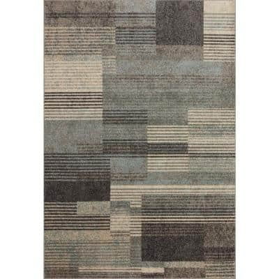 Loloi Ii Bowery Storm Taupe 4 Ft X 6 Ft Contemporary Polypropylene Pile Area Rug Bowebow 06sxta4060 The Home Depot