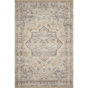 Hathaway Multi/Ivory 2 ft. 6 in. x 7 ft. 6 in. Traditional 100% Polyester Pile Runner Rug