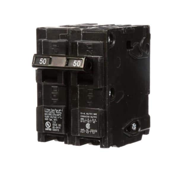Crouse-Hinds MP250 50 Amp 2 Pole Circuit Breaker for sale online