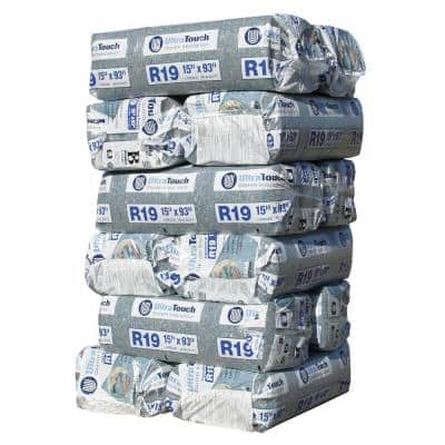 R-19 Denim Insulation Batts 15 in. x 93 in. (12-Bags)